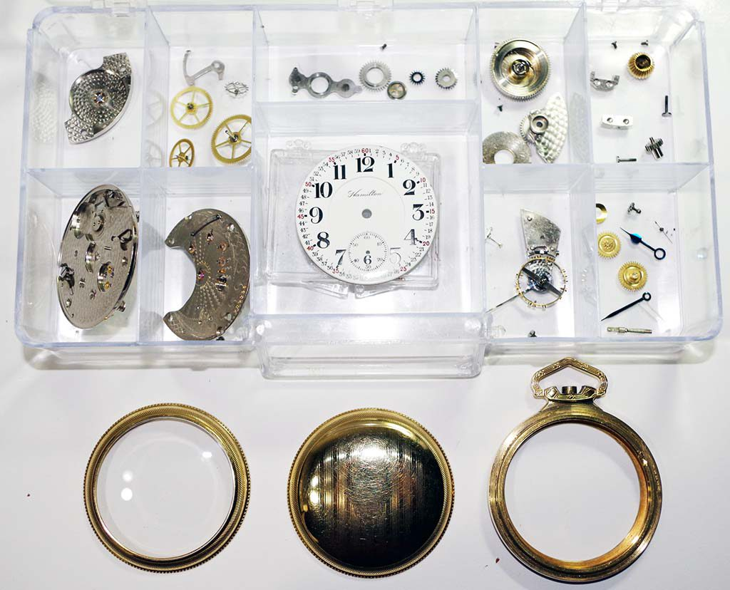 Vintage Pocket Watch Repair