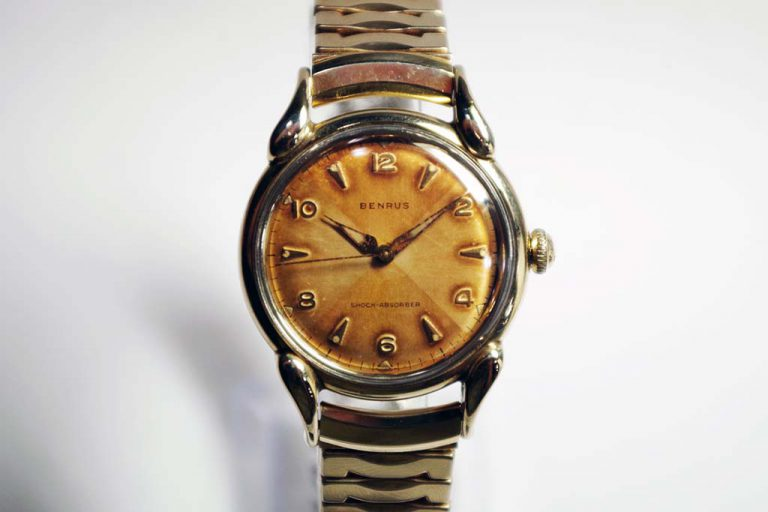 Vintage Benrus Watch Repair