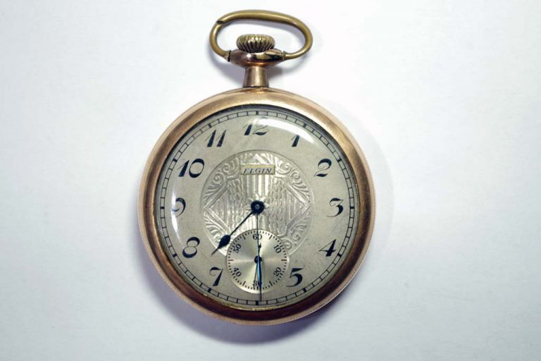 Elgin Pocket Watch Repair
