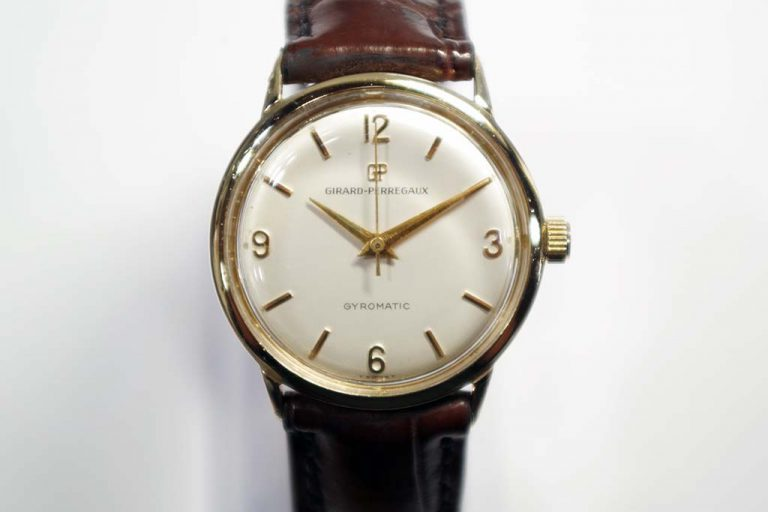 Vintage Girard Perregaux Watch Repair Service
