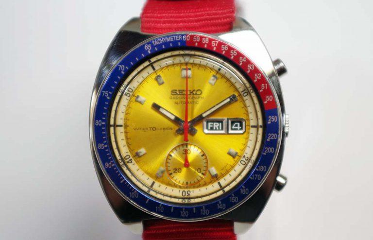 Seiko 6139 Watch Service