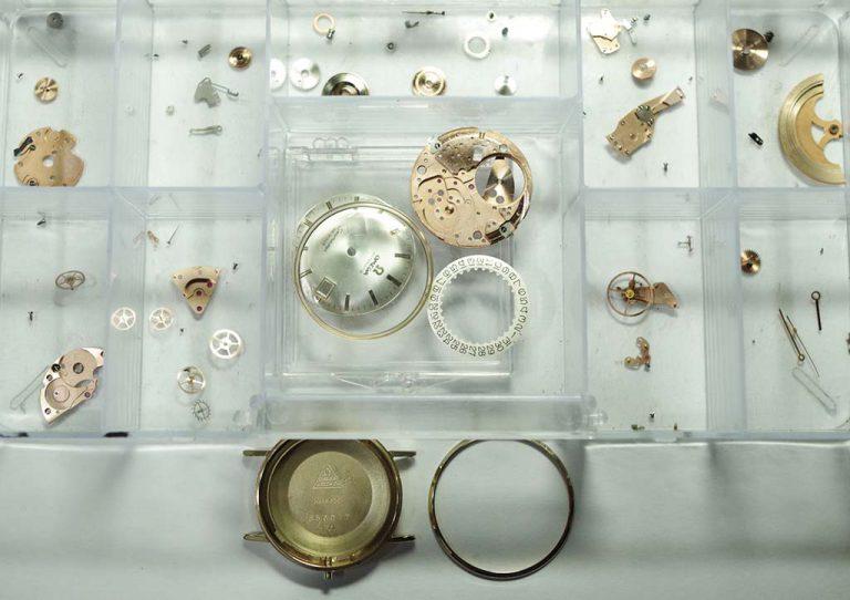 Vintage Omega Seamaster Watch Repair