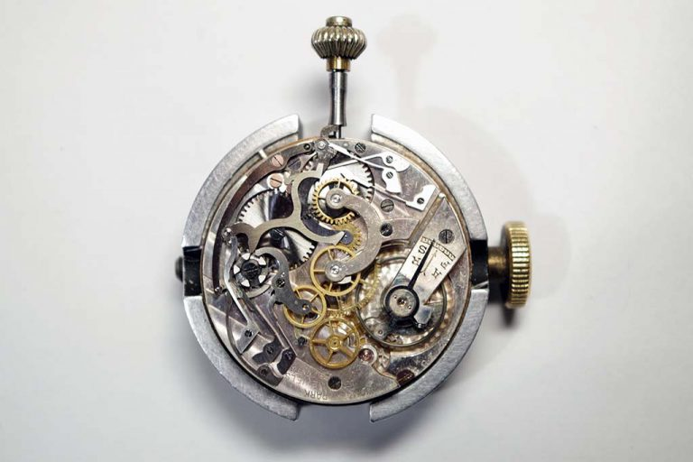 Vintage Chronograph Pocket Watch Service