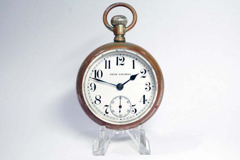 Seth Thomas Pocket Watch Repair