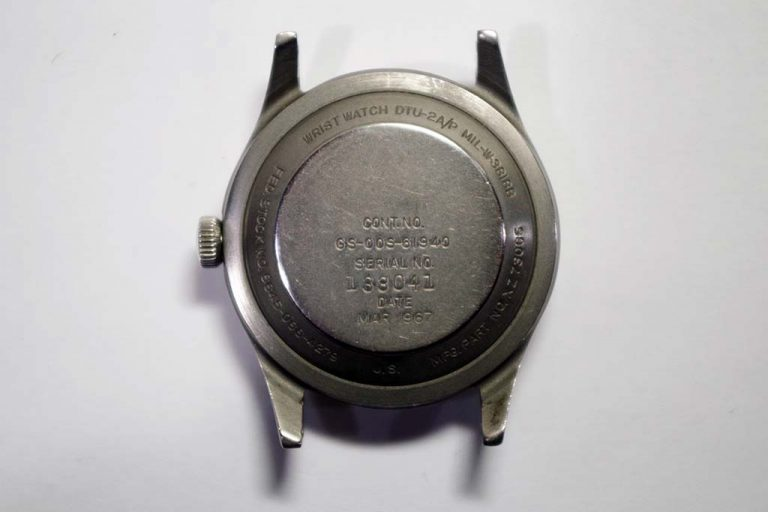 Military Benrus Watch Repair