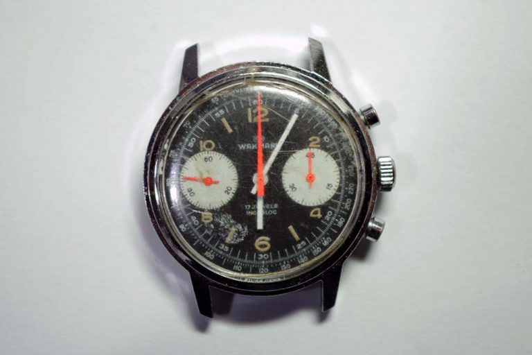 Vintage Chronograph Watch Repair